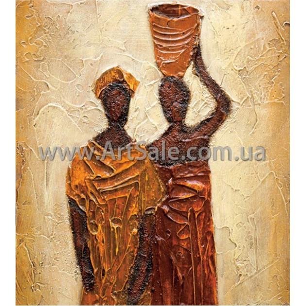 """Купить картину """"Африканцы"""""""