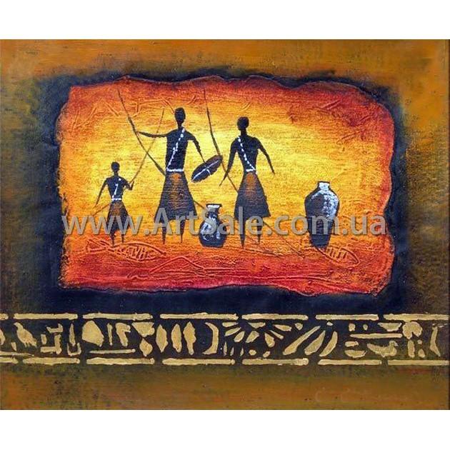 """Купить картину """"Племя с кувшинами"""""""