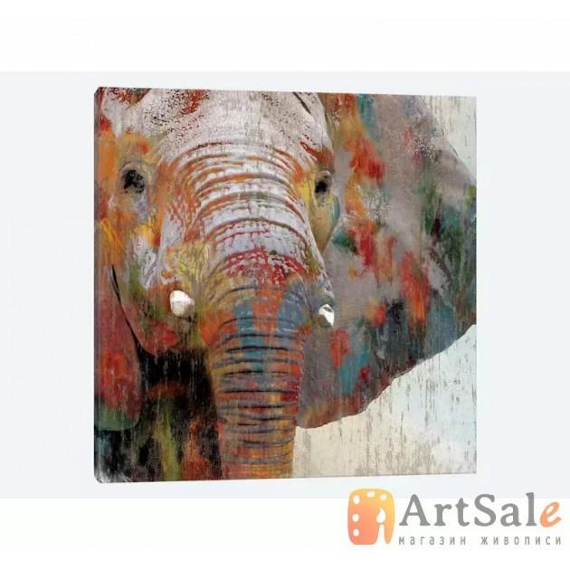 Картина акрилом Слон, ART: AI0017-2