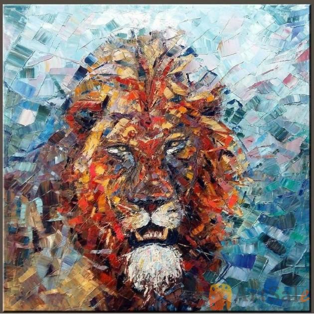 Картина Лев, ART: JT0001