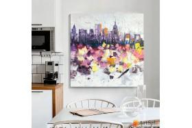 Городской пейзаж | картины города маслом и акрилом от ArtSale™