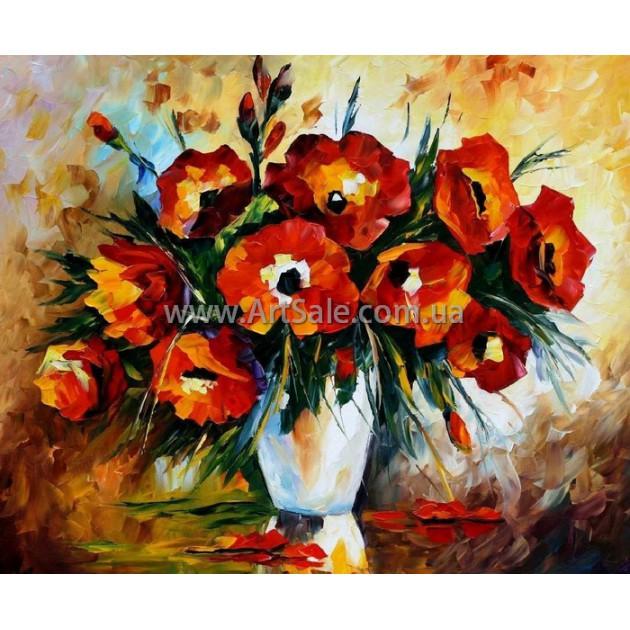 Картины цветы Маки, ART: FLW4057