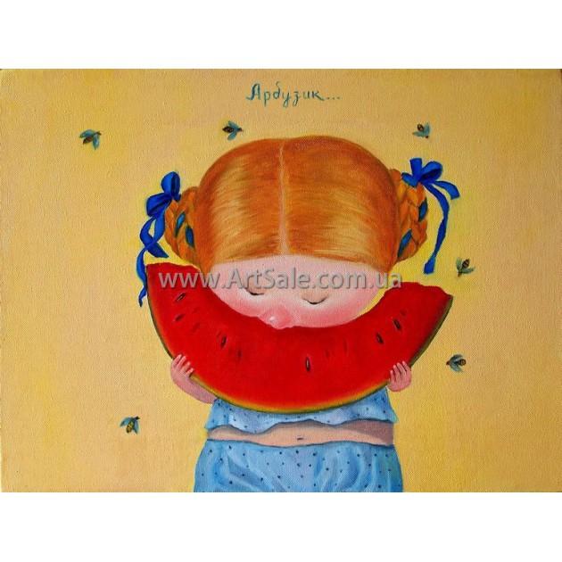 Купить картину Гапчинской Арбузик