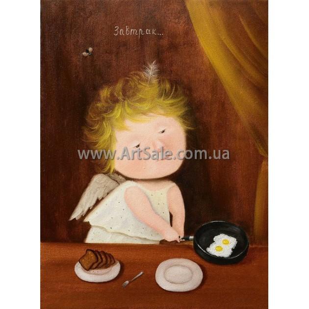Купить картину Гапчинской Завтрак