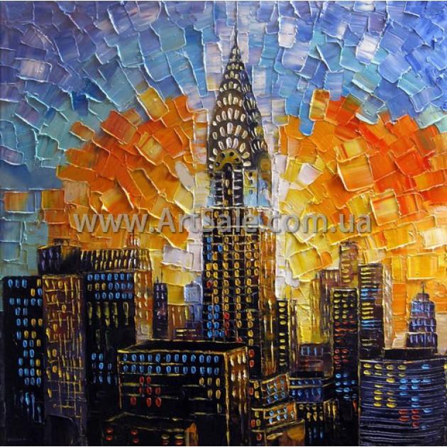 "Купить интерьерную картину ""New York"""