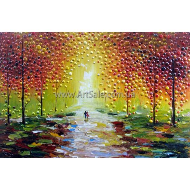 """Купить интерьерную картину """"Осенний пейзаж"""""""