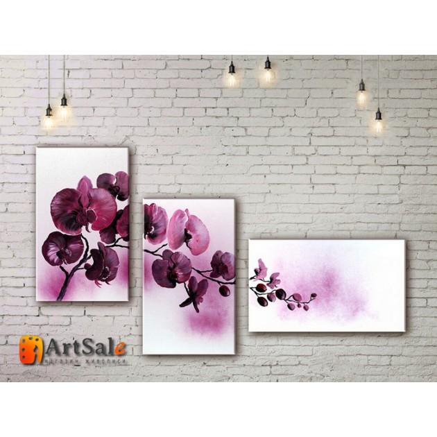 Модульные Картины, рисованные маслом, Art. MJ17_3_001