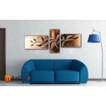 Модульные Картины, рисованные маслом, Art. MJ17_3_003