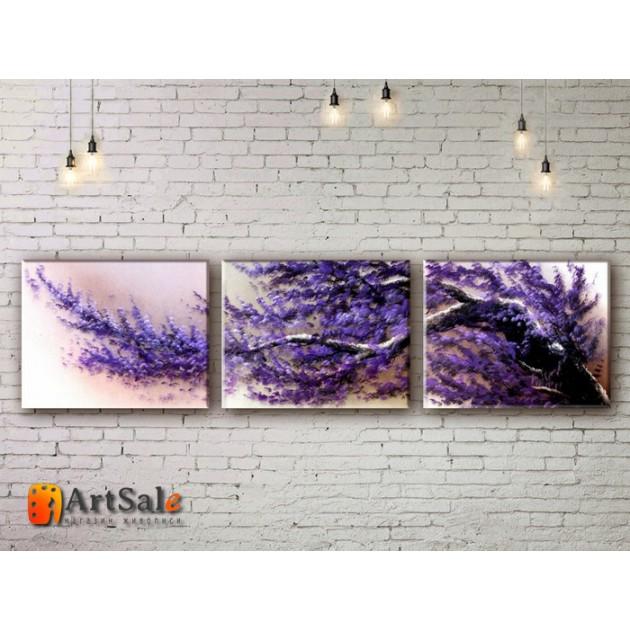 Модульные Картины, рисованные маслом, Art. MJ17_3_011
