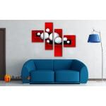 Модульные Картины, рисованные маслом, Art. MJ17_4_003