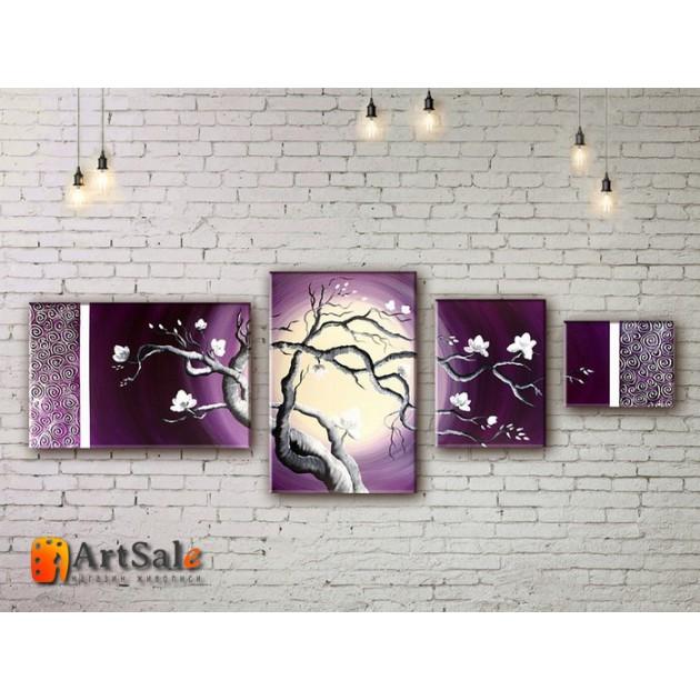 Модульные Картины, рисованные маслом, Art. MJ17_4_019