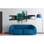 Модульные Картины, рисованные маслом, Art. MJ17_4_049