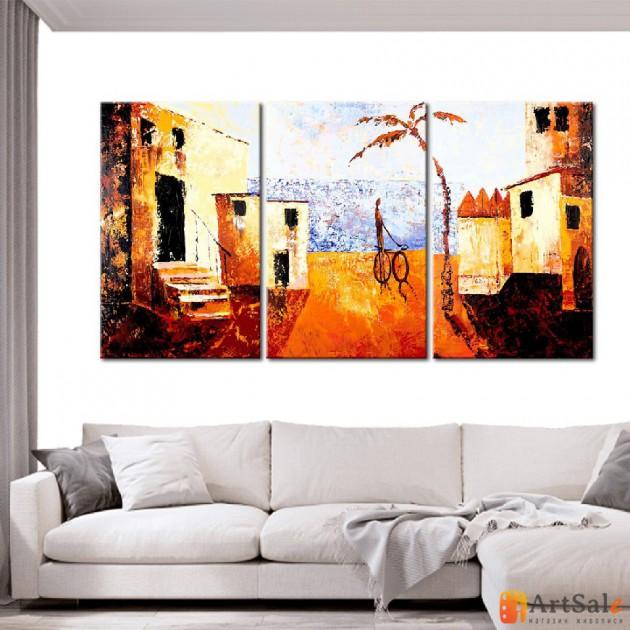 Модульная картина, городской пейзаж ART.: KGM0011