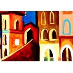 Модульная картина, городской пейзаж ART.: KGM0015