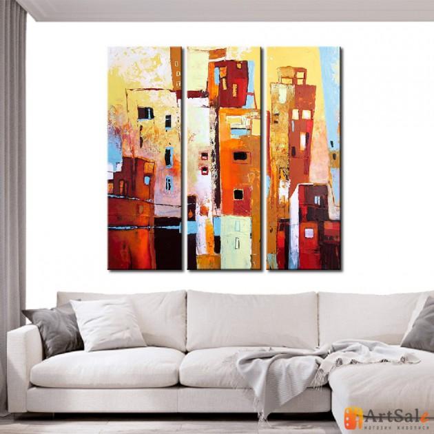 Модульная картина, городской пейзаж ART.: KGM0024