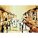 Модульная картина, городской пейзаж ART.: KGM0027