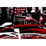 Модульная картина, городской пейзаж ART.: KGM0030