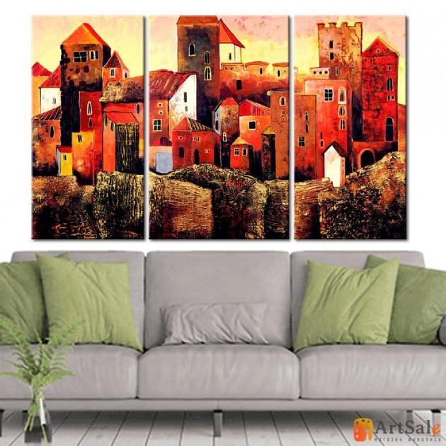 Модульная картина, городской пейзаж ART.: KGM0034