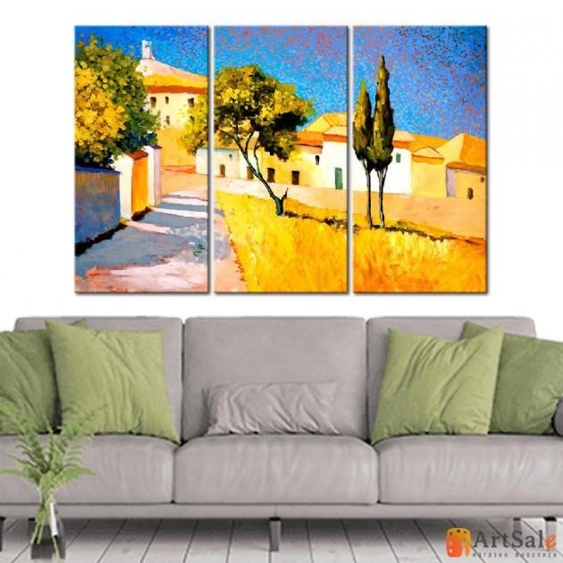 Модульная картина, городской пейзаж ART.: KGM0042