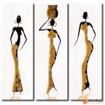 Модульная картина с людьми, ART.: KLM0019