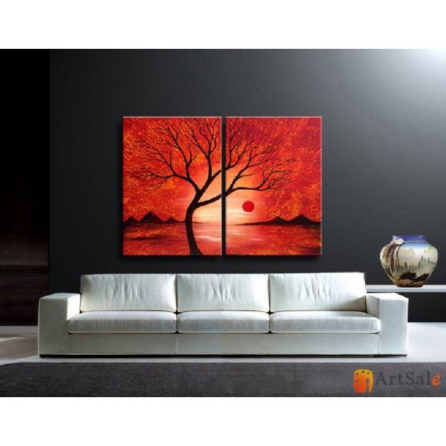 Модульная картина пейзаж ART.: KPM0001