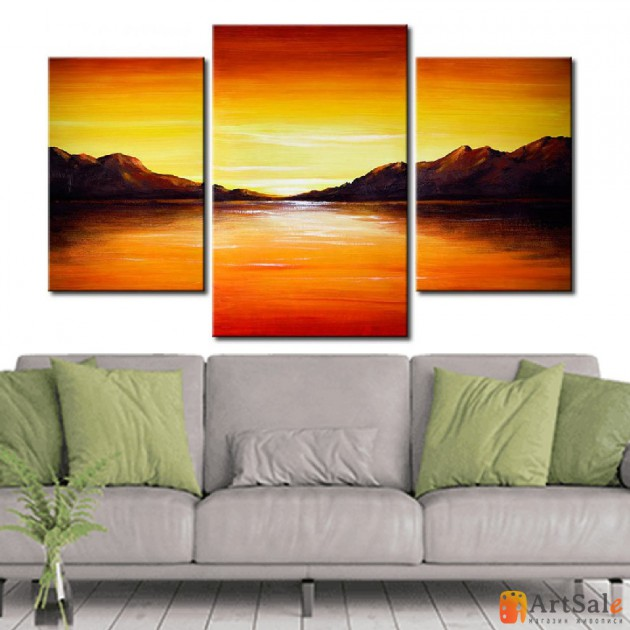 Модульная картина пейзаж ART.: KPM0031