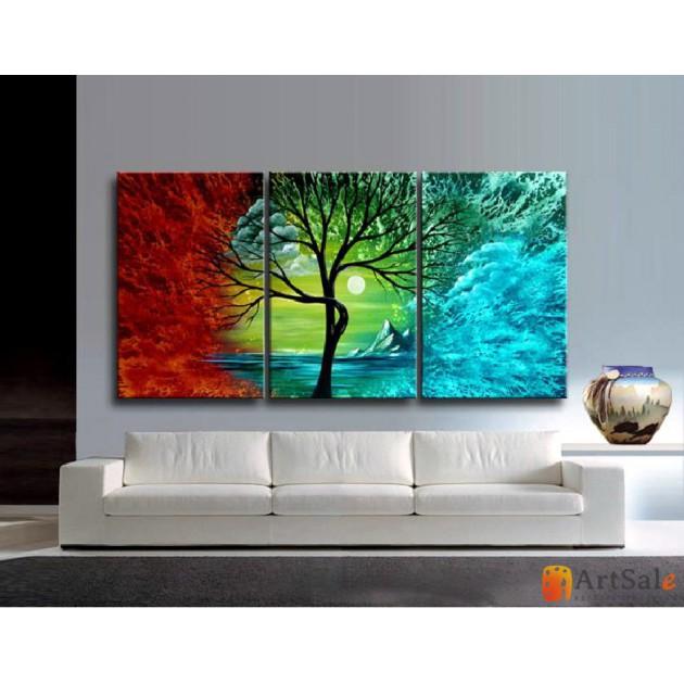 Модульная картина пейзаж ART.: KPM0052