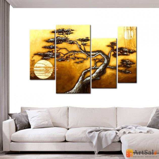 Модульная картина пейзаж ART.: KPM0062