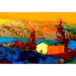 Модульная картина пейзаж ART.: KPM0065