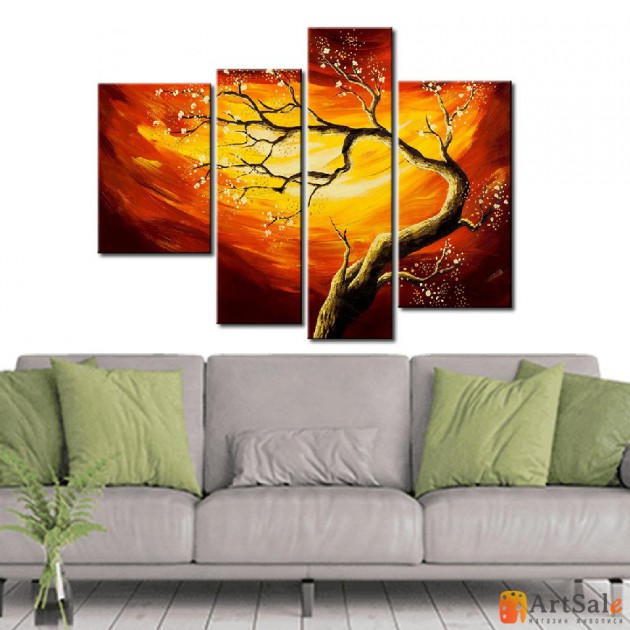 Модульная картина пейзаж ART.: KPM0079