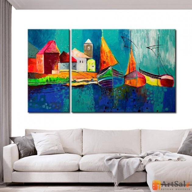 Модульная картина, морской пейзаж ART.: KMM0005