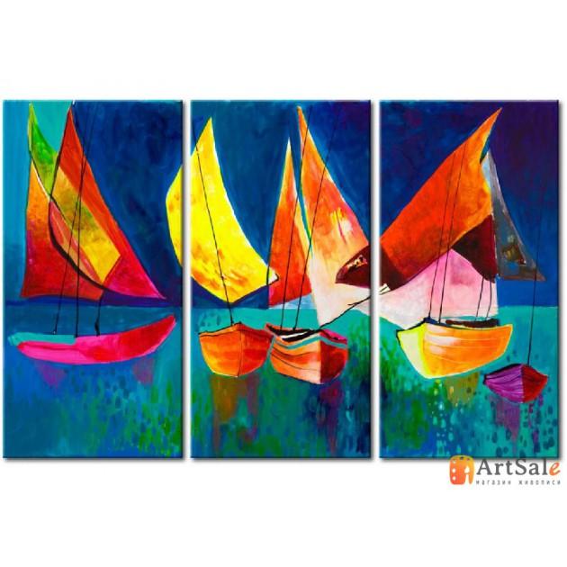 Модульная картина, морской пейзаж ART.: KMM0008