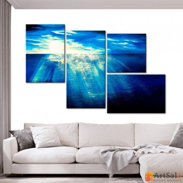Модульная картина, морской пейзаж ART.: KMM0024