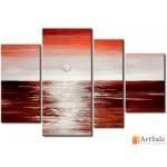Модульная картина, морской пейзаж ART.: KMM0028