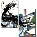 Модульная картина, абстракция ART.: KAM0017