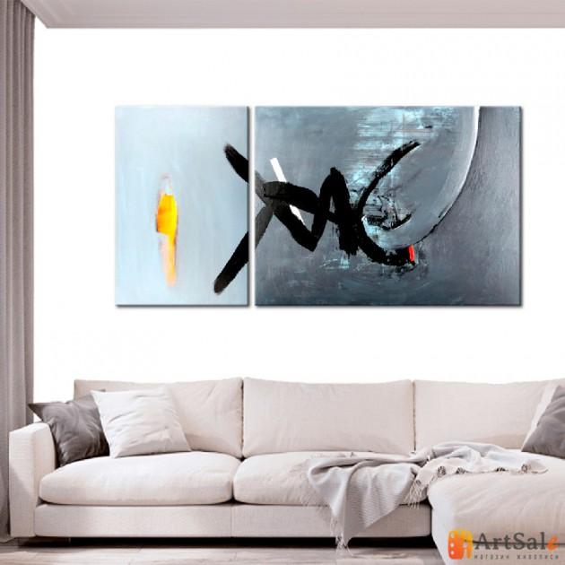 Модульная картина, абстракция ART.: KAM0052