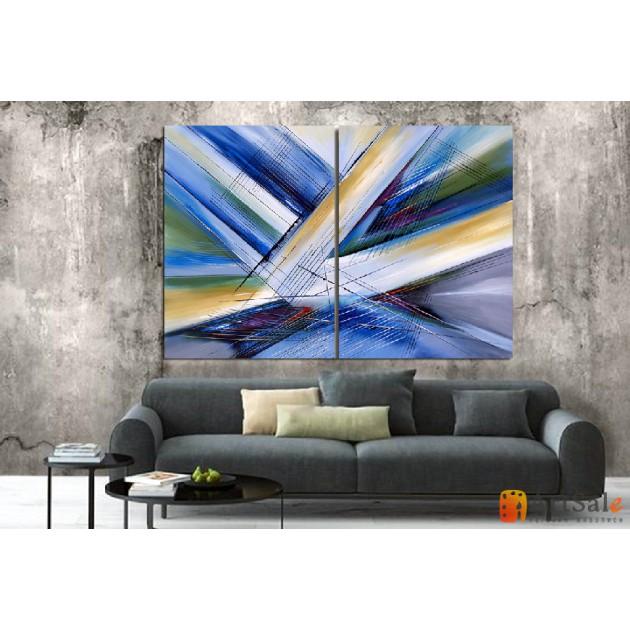 Модульная картина, абстракция ART.: KAM0065
