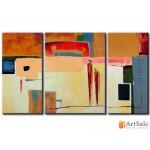 Модульная картина, абстракция ART.: KAM0104