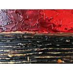 Модульная картина, абстракция ART.: KAM0107
