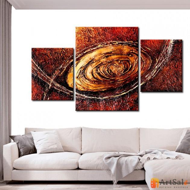 Модульная картина, абстракция ART.: KAM0253