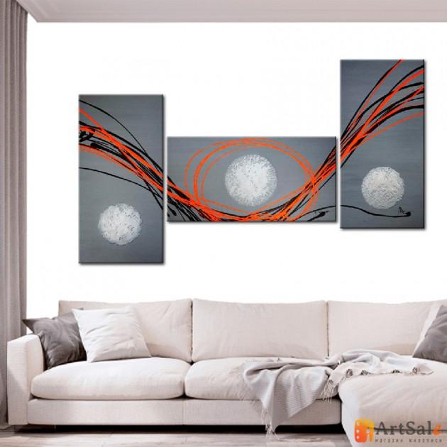 Модульная картина, абстракция ART.: KAM0261