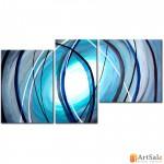 Модульная картина, абстракция ART.: KAM0345