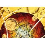 Модульная картина, абстракция ART.: KAM0367