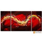 Модульная картина, абстракция ART.: KAM0397