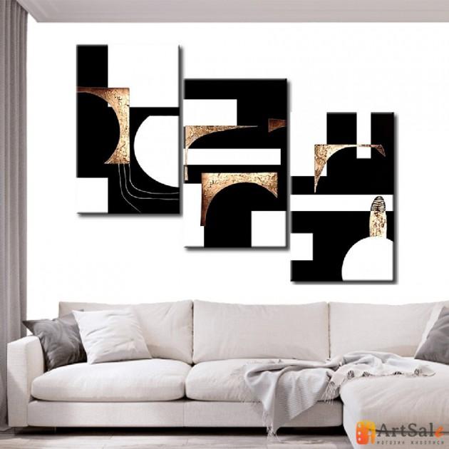 Модульная картина, абстракция ART.: KAM0401