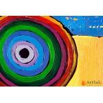Модульная картина, абстракция ART.: KAM0412