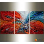 Модульная картина, абстракция ART.: KAM0523