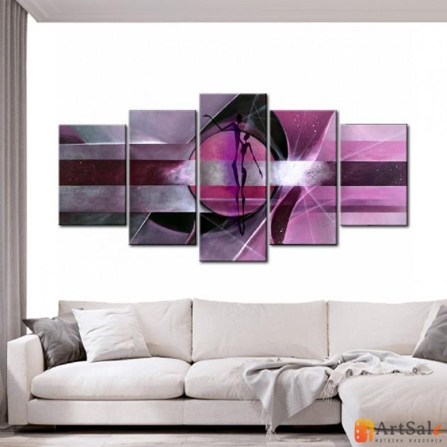 Модульная картина, абстракция ART.: KAM0888