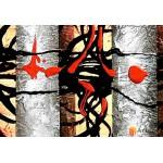 Модульная картина, абстракция ART.: KAM0927