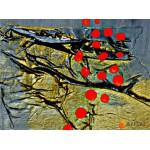 Модульная картина, абстракция ART.: KAM0951